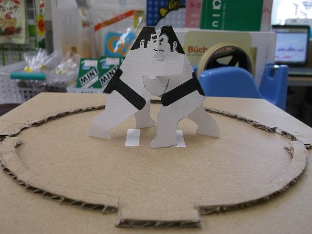 オリジナル紙相撲