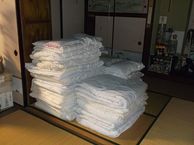 布団の準備