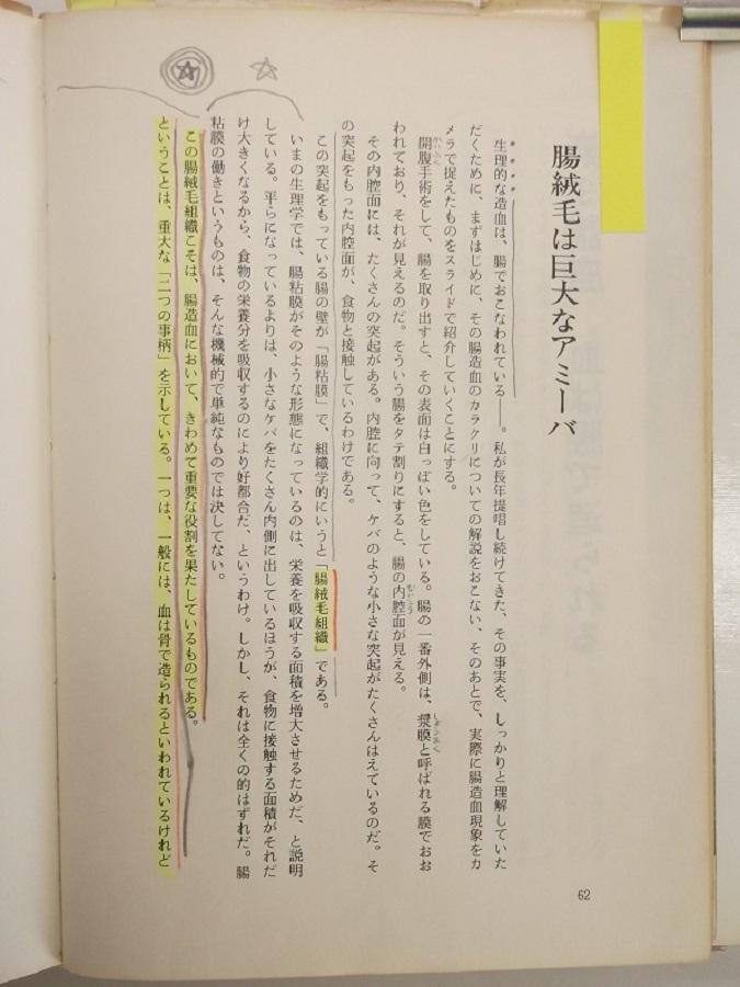 自然医学の基礎 p62